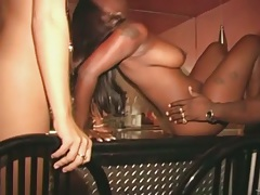 Interracial group amateur swingers in mmff action
