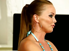 Gabriele Gucci shows off her goods in a casting video with Silvia Saint
