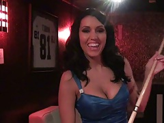 Dylan Ryder Playing pool before wedding