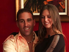 Horny milf wife Rachel Roxxx and Bianca Dagger swapping wives