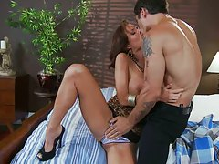Hot milfs getting down for naughty