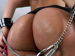 Nice ass fetish bondage and blowjob with small flat chest Dianna Dee