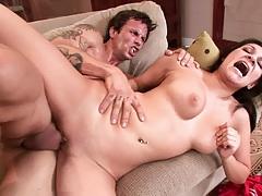Sideways screaming latina sex with Adrianna Kelly