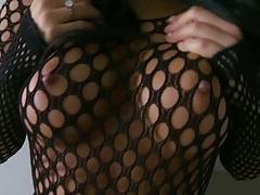 Fishnets Asa an asian slut goddess