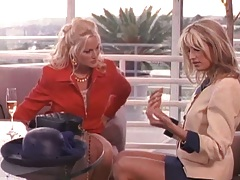 Two babes fully clothed Maya Chavez and Stacy Valentine