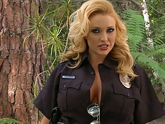 Big tits cop Dani Daniels looking god