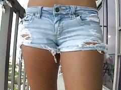 Hot teen asian slut in her panties Alexis Glory