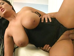 Sideways fucking with pulled aside panties Yasmine