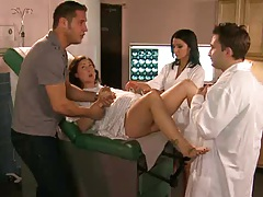 Doctor advantures with pussy exam