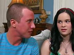 Teen and milf Jessy Jones and Jenna Ross love male teen cock
