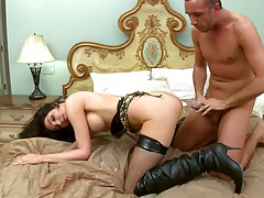 Doggy style great anal penetration for Dianas ass